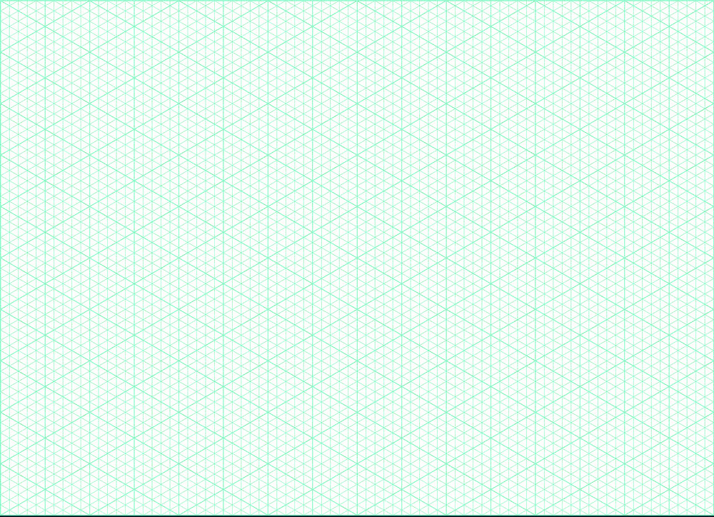 Isometric Graph Paper Printable