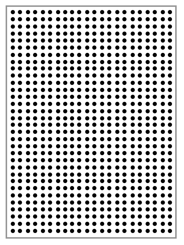 Dot Paper for Math