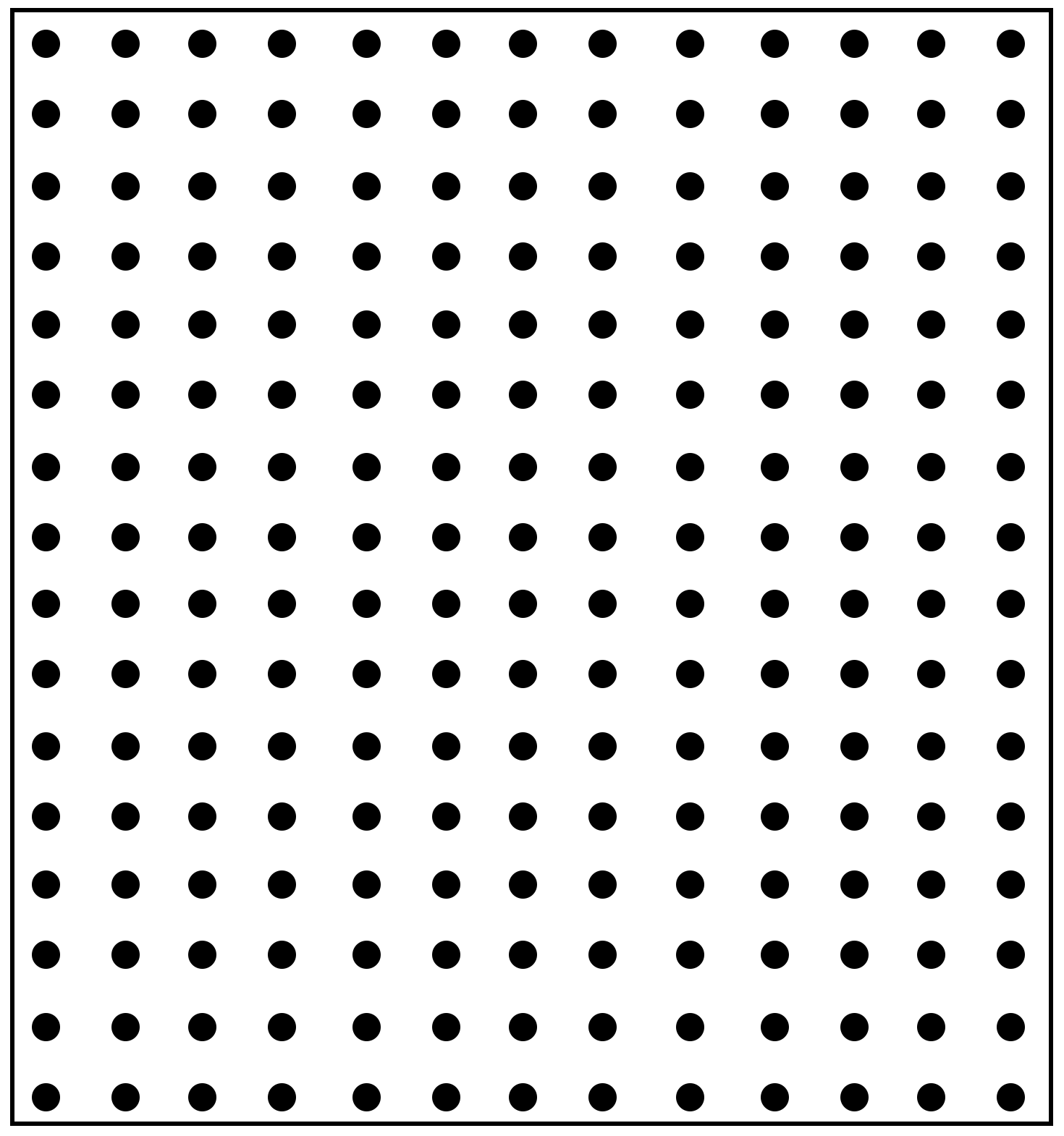 Printable Square Dot Paper