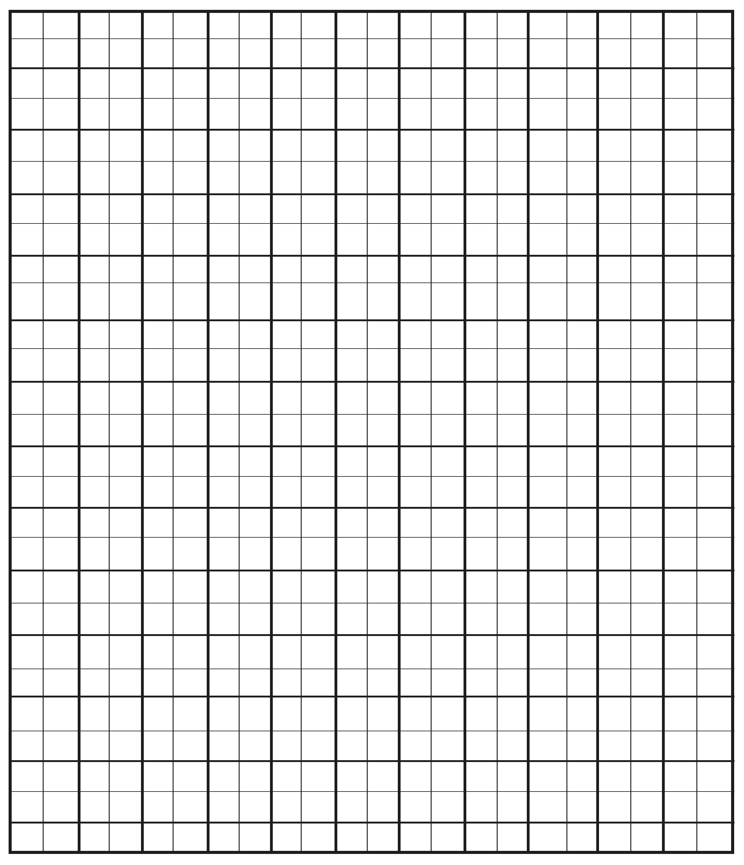Custom Engineering Graph Paper