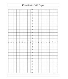 Printable Graph Paper With Axis For Maths